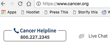 Cancer hotline: Ask about treatments, diagnosis and costs