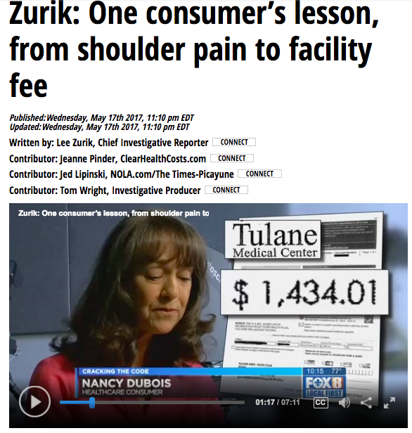 "Facility fees startle patients who think they're paid up: ""Cracking the Code"""