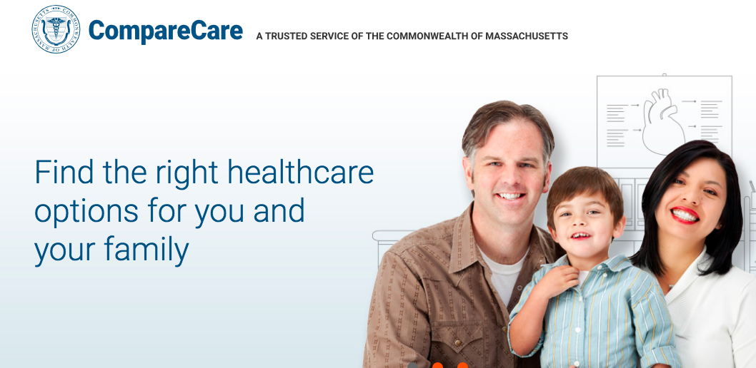 The new Massachusetts state health care website: The Boston Globe