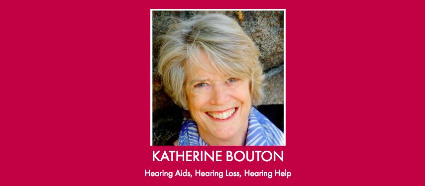 Hearing aids, hearing loss, hearing help, via the Hearing Tracker: Katherine Bouton explains