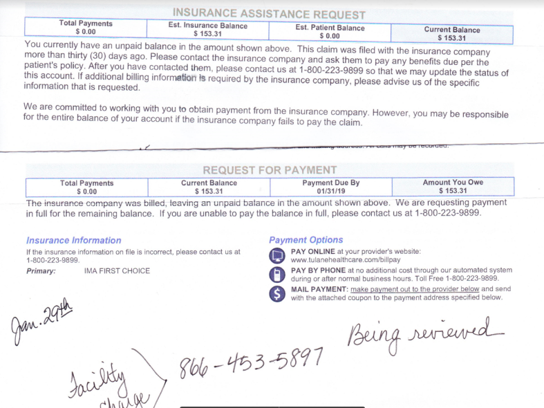 A reader's victory on facility fees: She saved more than $300, or how to argue a bill