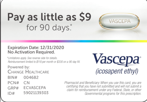 How much does Vascepa cost? $9 or $90?